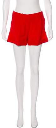 RED Valentino Pleated High-Rise Shorts