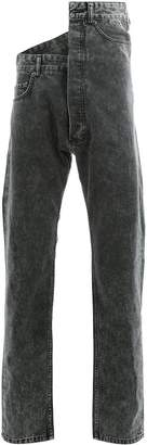 Y/Project Y / Project asymmetrical jeans