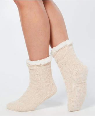 Charter Club Chenille Slipper Socks