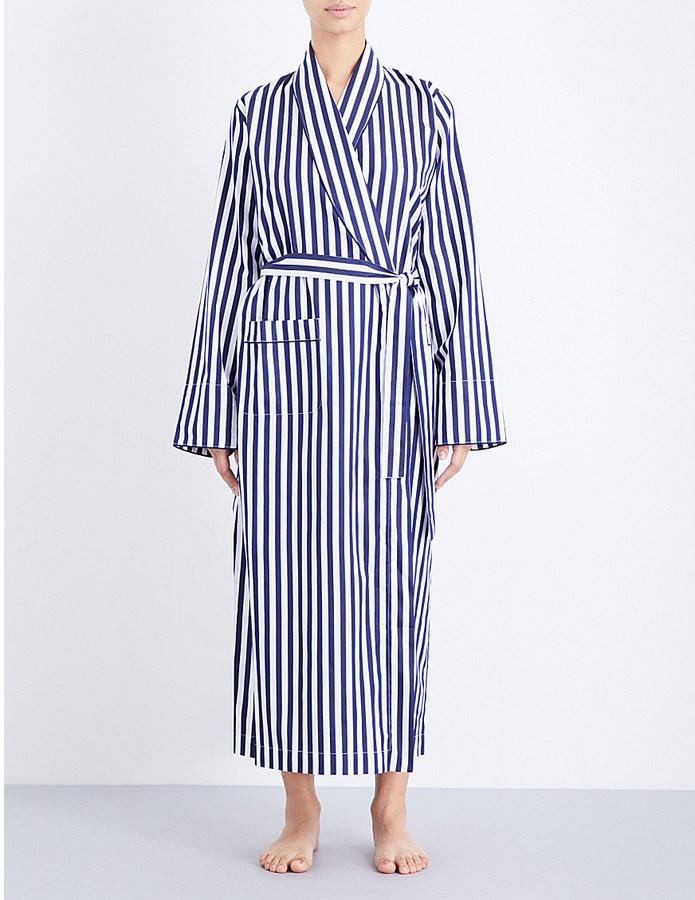 BodasBODAS St moritz cotton robe