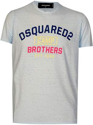 DSQUARED2 Dsquared 'Brothers' Tshirt Blue