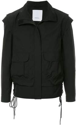 Ports V zipped fitted jacket