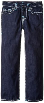 True Religion Kids Rickey Super T Jeans in Rinse (Toddler/Little Kids) $129 thestylecure.com