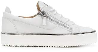 Giuseppe Zanotti Design zip trim sneakers