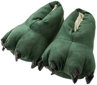 687a6ff3065 Firstsight Slippers Firstsight Unisex Fuzzy Plush Bear Claw Slippers House  Animal Paw Shoes