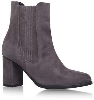 8bea6149aa99 at Debenhams · Carvela Grey  Samuel  High Heel Slip On Ankle Boot