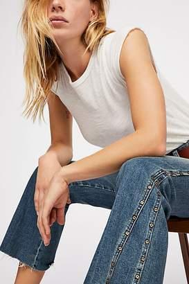 Studded Novelty Flare Jeans