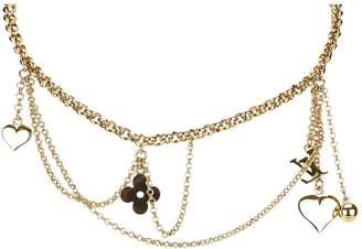 Louis Vuitton Monogram necklace