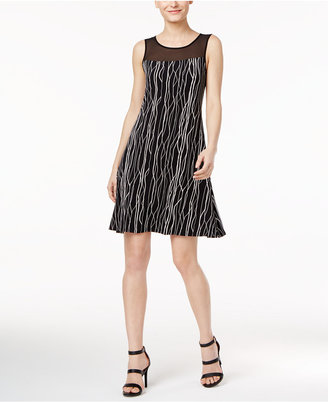 Vince Camuto Illusion Shift Dress, A Macy's Exclusive Style $99 thestylecure.com
