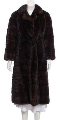 Bergdorf Goodman Long Fur Coat