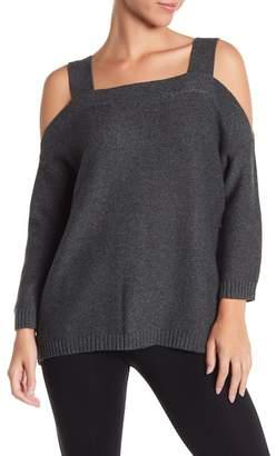 Tart Merino Wool Blend Cold Shoulder Sweater