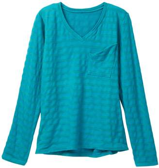 Couture Go V-Neck Long Sleeve Tee (Little Girls & Big Girls)
