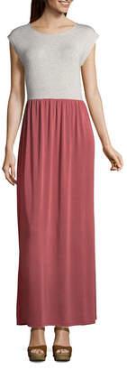 Spense Sleeveless Maxi Tie Back Dress