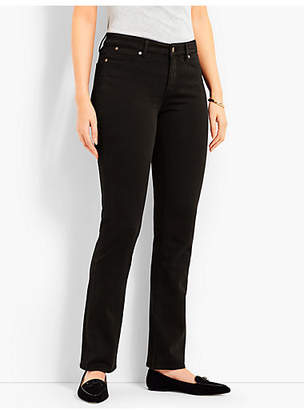 Talbots Denim Straight Leg-Curvy Fit/Black