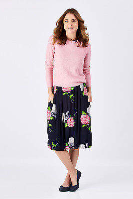 Emily And Fin NEW Womens Knee Length Skirts Faye Skirt Dehlias