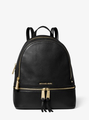 49c645a7daa521 MICHAEL Michael Kors Rhea Medium Leather Backpack