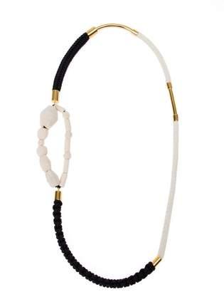 Marni fabric necklace