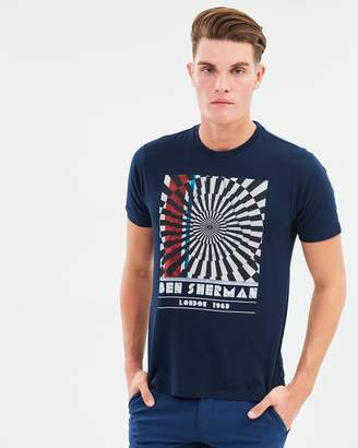 Ben Sherman Op Art T-Shirt