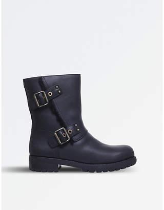 UGG Niels leather biker boots