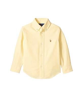 Polo Ralph Lauren Cotton Oxford Sport Shirt (Toddler)