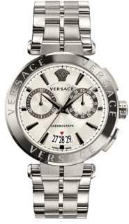 Versace Aion Stainless Steel Chronograph Watch