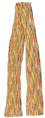 Missoni Knit Patterned Scarf