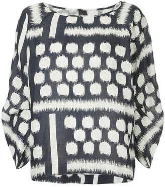 Zero Maria Cornejo print blouse