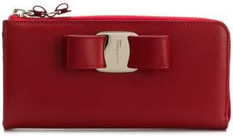 Salvatore Ferragamo Vara Bow zip wallet