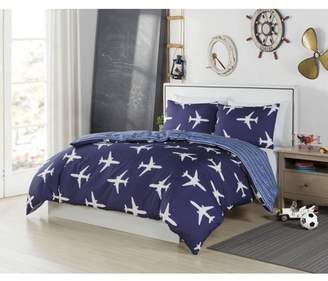 BA&SH LALA + BASH Fly Airplane Comforter Set
