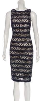 Alice + Olivia Lace Knee-Length Dress w/ Tags