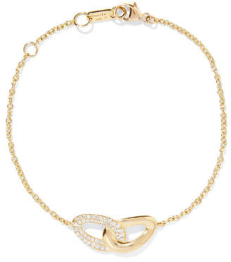 Ippolita Cherish Bond 18-karat Gold Diamond Bracelet