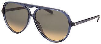 CelineCeline CL41069-BMPBW-58 Women's Aviator Blue Translucent Sunglasses