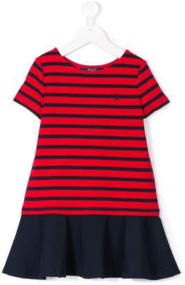 Ralph Lauren striped flared dress