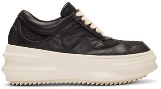 D.gnak By Kang.d Black and White Curved Sneakers