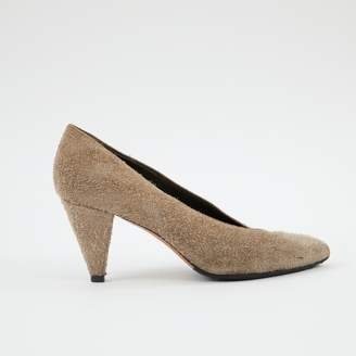 Isabel Marant Grey Leather Heels