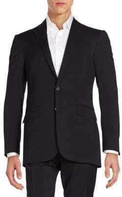 Ralph Lauren Solid Wool Sportcoat