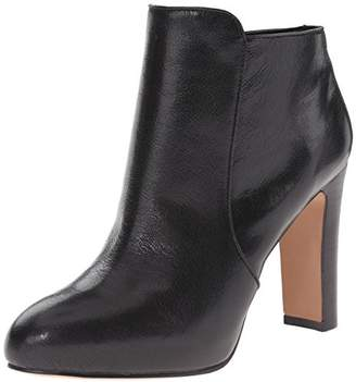 Nine West Women's Gidran Leather Lace up Ankle Boot