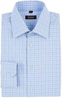 Barneys New York Men's Checked Cotton Dress Shirt