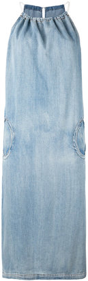 Diesel halter denim dress $178.11 thestylecure.com