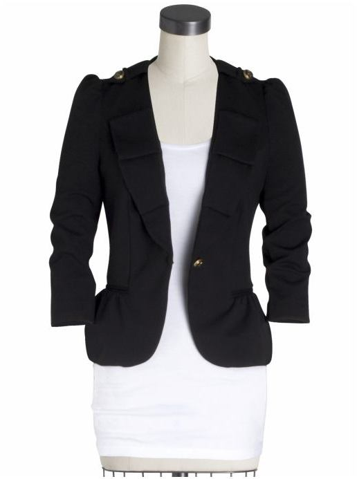 Juicy Couture Shrunken Fit Jacket