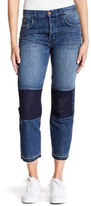 J Brand Low Rise Cuffed Jeans