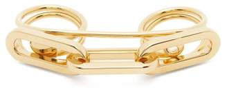 Burberry Chain Embellished Double Ring - Womens - Gold