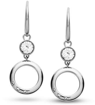 Fossil Open Circle Stainless Steel Earrings