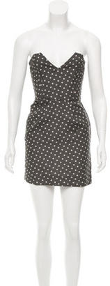 Alice by Temperley Polka Dot Mini Dress $65 thestylecure.com