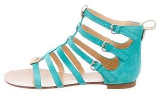 Giuseppe Zanotti Suede Gladiator Sandals