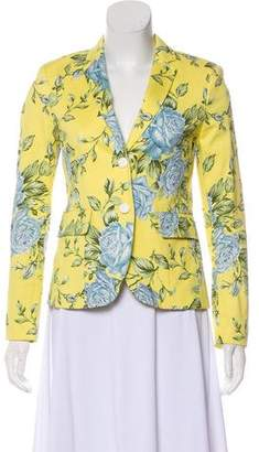 Rag & Bone Floral Print Notch-Lapel Blazer