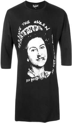 Boy London queen print T-shirt