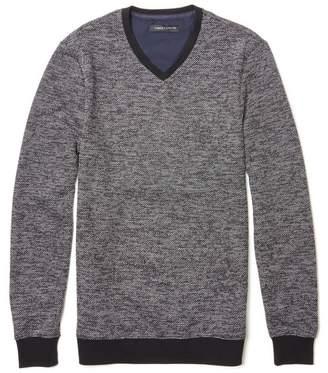 Vince Camuto Marled V-neck Sweater