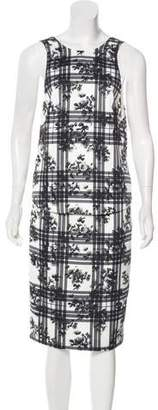 Finders Keepers Printed Midi Dress