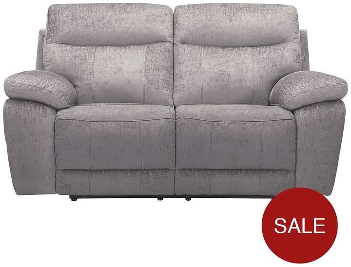 Violino Bling 2-Seater Fabric Manual Recliner Sofa